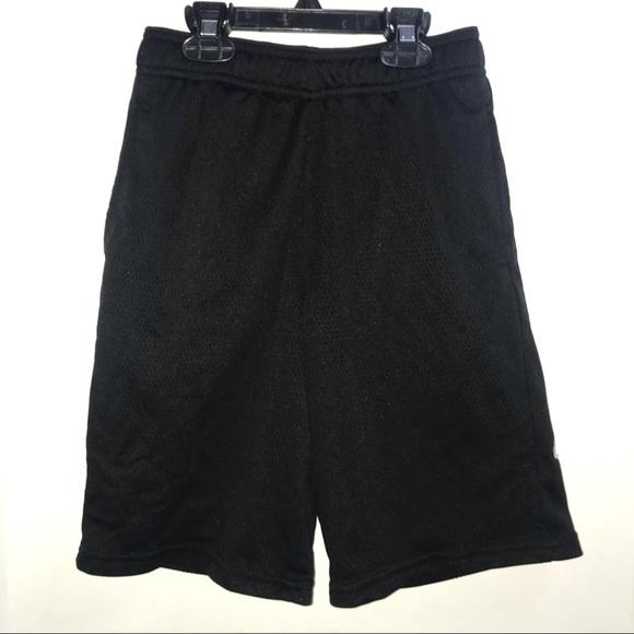 Boys C9 by Champion shorts, black mesh w/ pockets